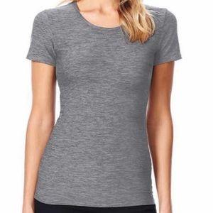Loft Scoop Neck Short Sleeve shirt size small